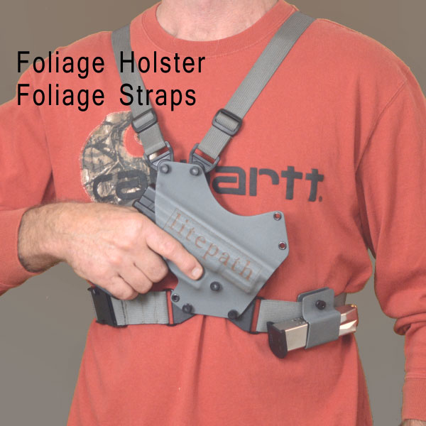 Chest holster, Foliage, kydex,