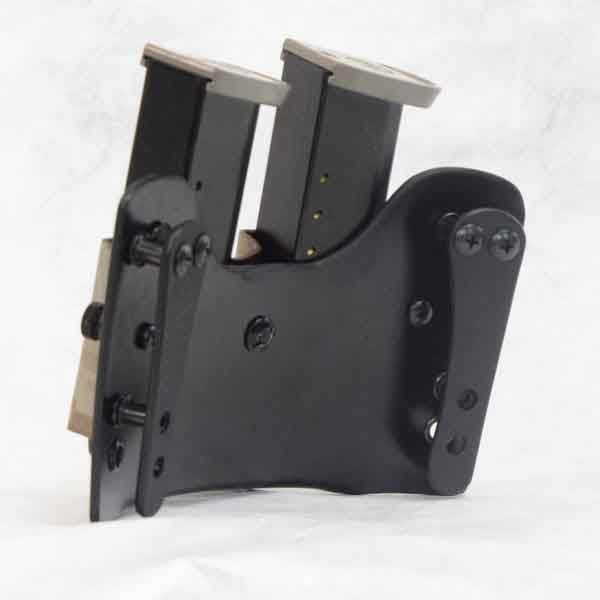 Rear view of double tactical mag pouch.