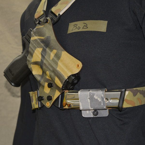 Chest Holster with mag pouch, multicam
