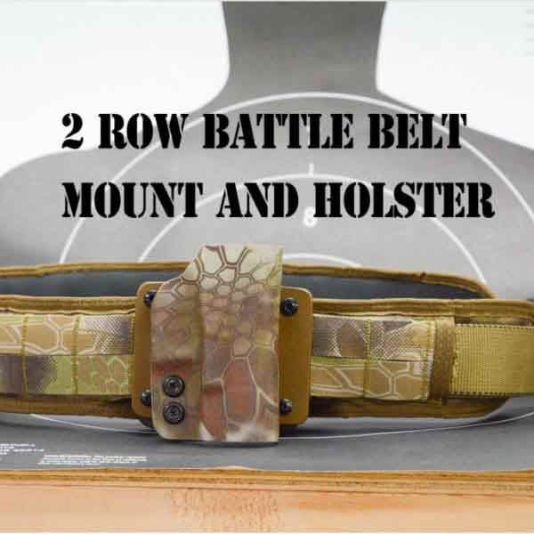 OWB holster, Molle Holster, Battle Belt