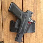 Pancake Holster with optic added
