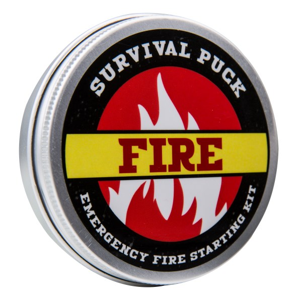 Survival Puck, Emergency Fire starting kit,