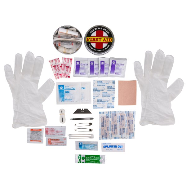 Survival Puck, First Aid Kit, Emergency Kit