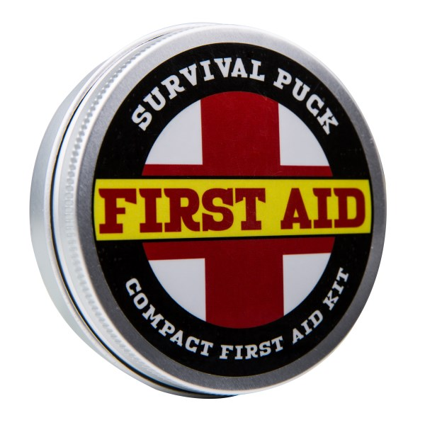Survival Puck, first aide kit, mini first aid kit