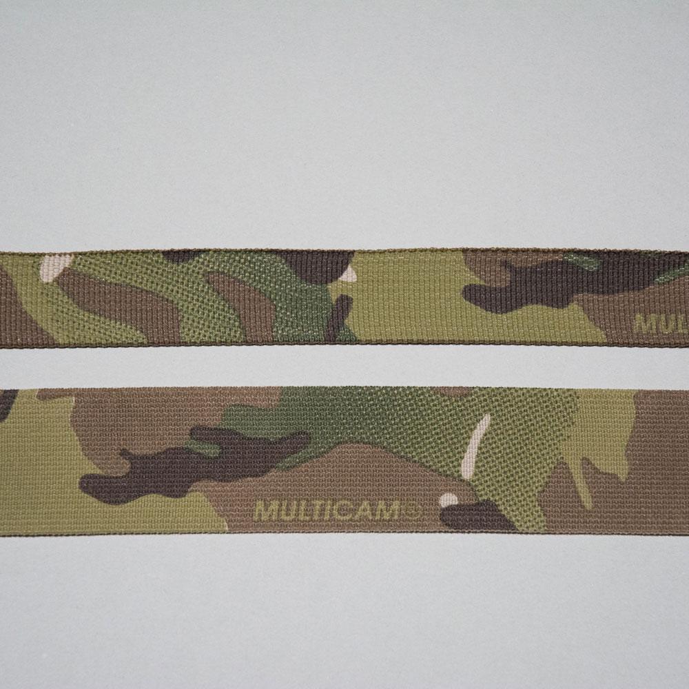 Mil-Spec Multicam Nylon Webbing and Elastic