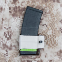 AR-15 magazine pouch with mag inserted.