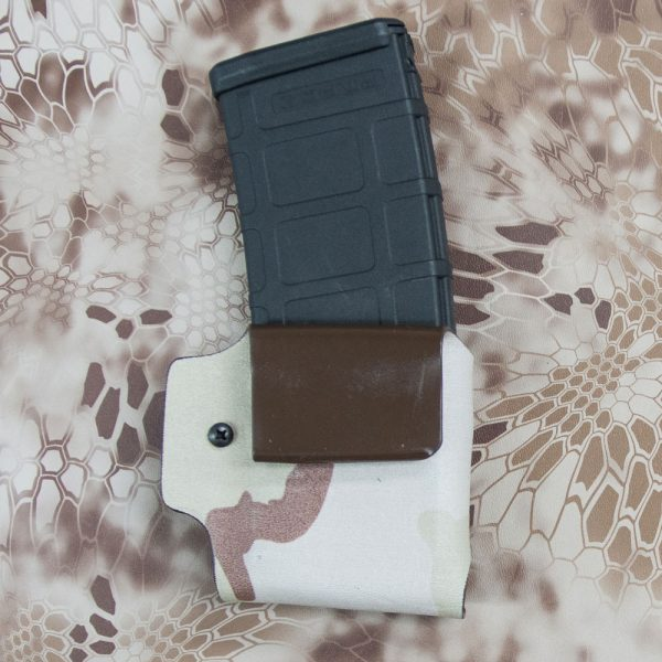 Back of AR mag pouch